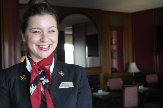 Véronique Bourgeault, concierge at the Montreal Marriott Château Champlain and 2015 Andy Pongco Award Nominee for Canada.