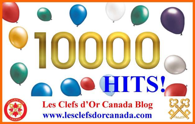 10000 hits blog