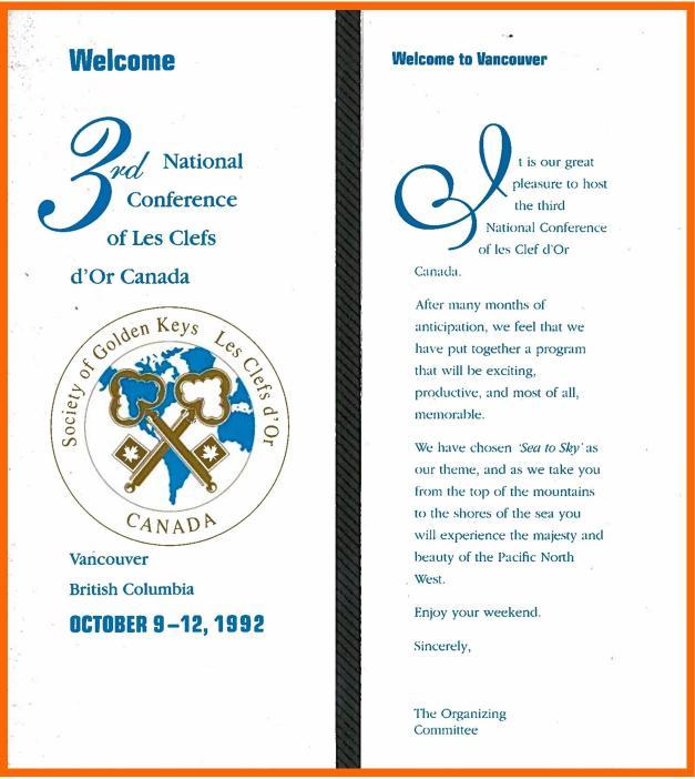 1992 Vancouver program
