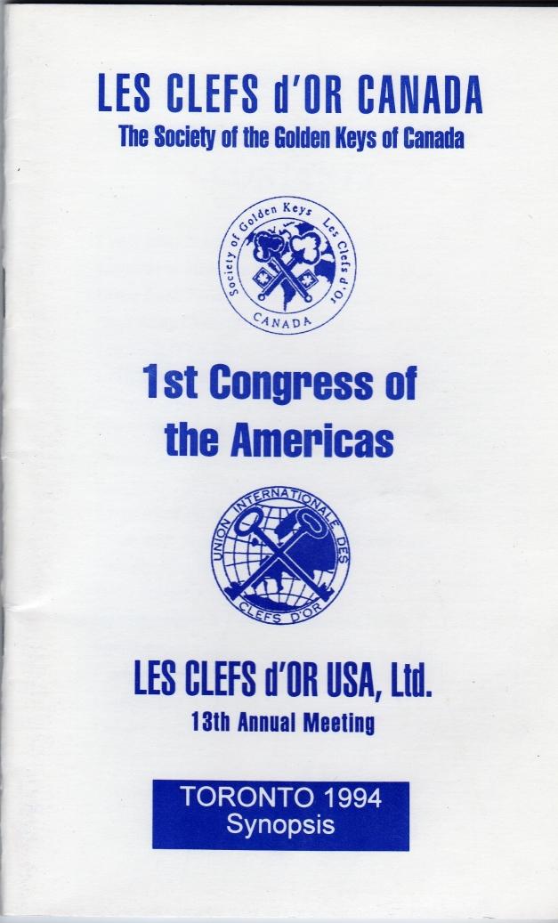 1994 Toronto program