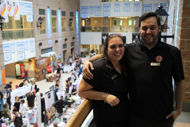 001 - Salon-Simon Bolovi, Past Director & Kimberly Nichols, current Tresorier for Quebec Region, our superb event planner from our Quebec Region team