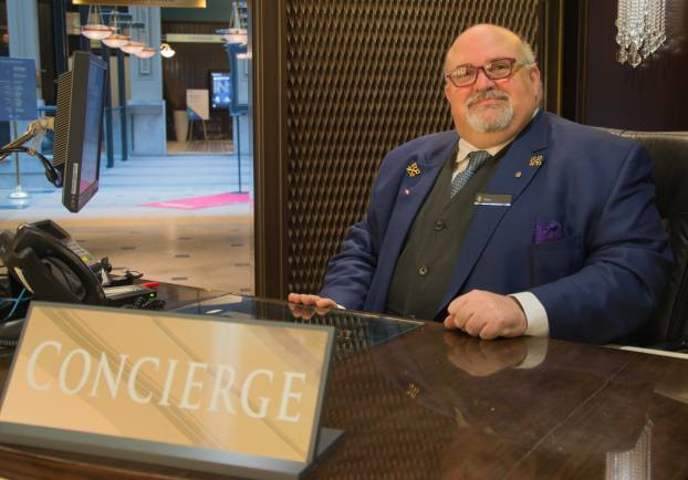 Gerry Lonergan, InterContinental Hotel, Montreal